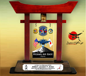 "(SMALL) 12"" Tall Torii Gate ""35th AMXS - Annual Awards"" 2019"