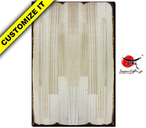 Vertical Wood Wall Plaque #WP-VSOPT-004