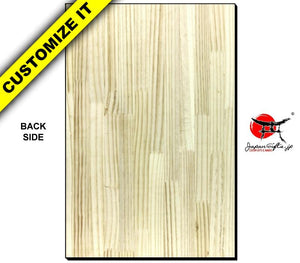 Vertical Wood Wall Plaque #WP-VSOPT-007