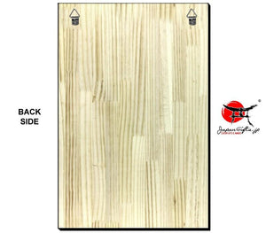 Vertical Wood Wall Plaque #WP-VSOPT-005
