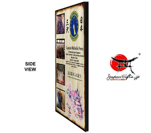 "(LARGE) 20""x15"" Wall Plaque w/4 Photos #PP-V2015-001"