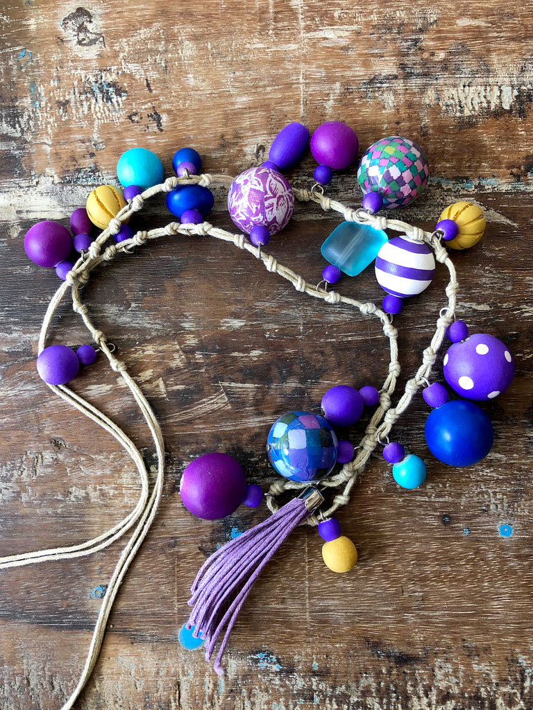 Bobble necklace