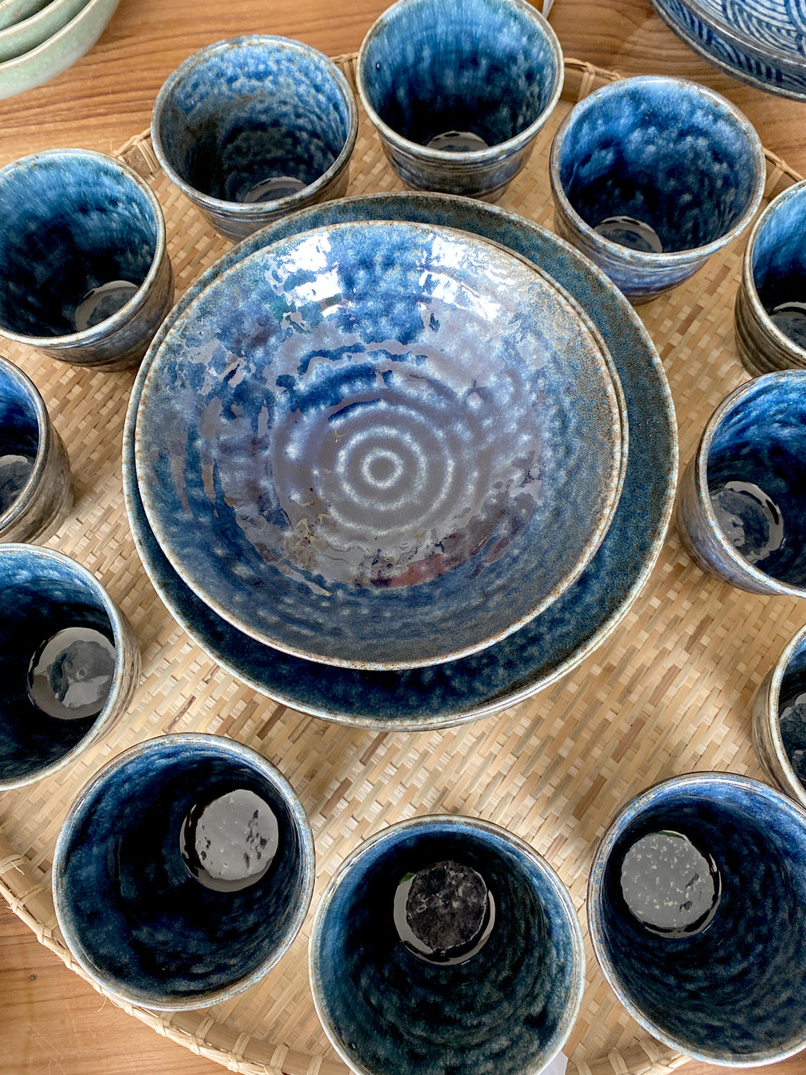 IROYU blue ceramics