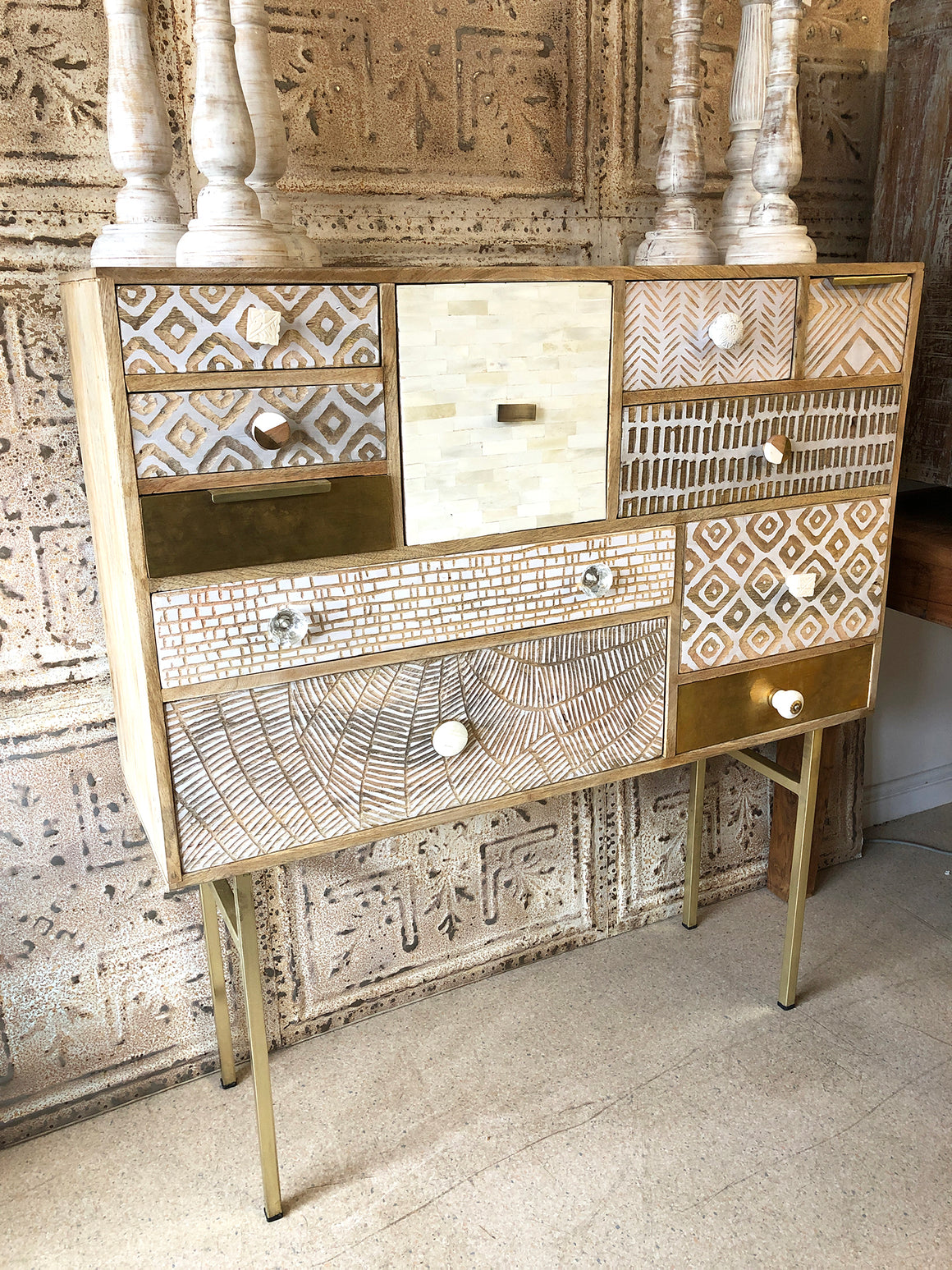 Scandi multi-drawer chest
