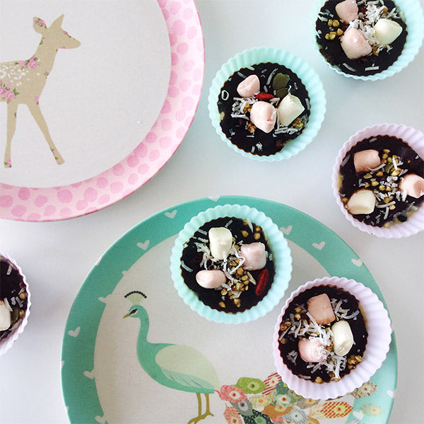 Kids Christmas Party Food Ideas Part - 17: Vegan Rocky Road Recipe - Party Food Ideas For Kids