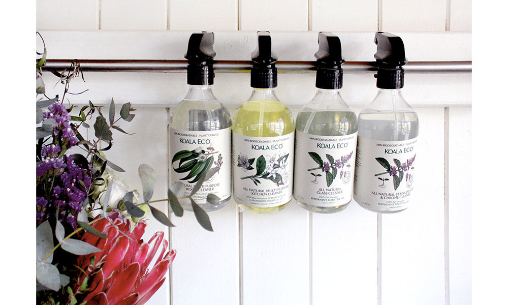 The Koala Eco Cleaning Products Range