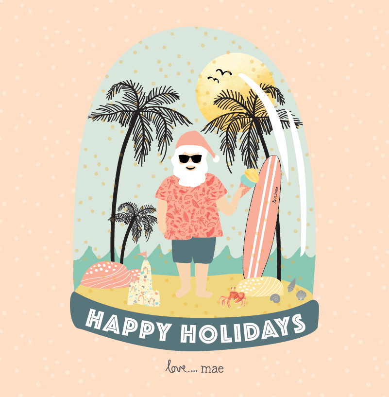 Love_Mae_Happy_Holidays_Merry_Christmas_Aussie_Byron_Bay
