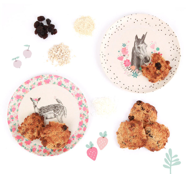 Love_Mae_Oat_Raisin_Cookies_Healthy_Recipe_Bamboo_Dinnerware