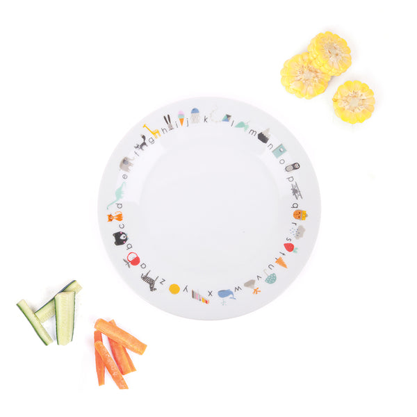 Love_Mae_Porcelain_Plate_Dinnerware_ABC_Alphabet_Kids
