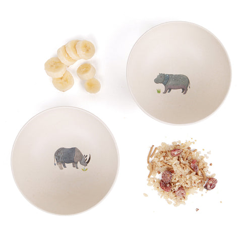 4pk Bowls - On Safari