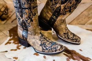 Corral Dark Alley Saloon Boot