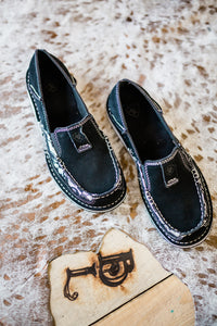Ariat Cruiser Moccs [Black Lace]