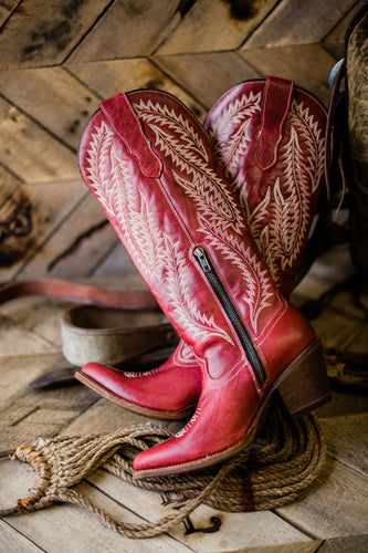 Corral Red Old Habits Boots