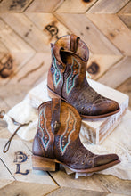 Corral Genuine Lamb Leather Silks Boots