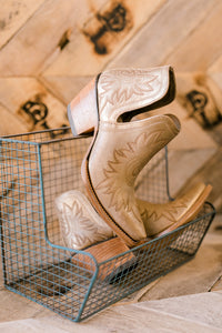 Ariat Dixon Boots [Distressed Gold]