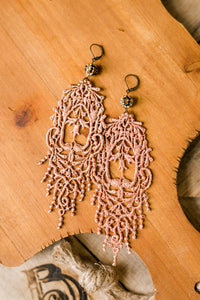 Swann Lace Earrings [Several Colors Available]