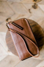 Marsha Smooth Leather Organized Wristlet/Wallet