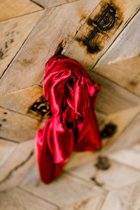 Ruby Red Wild Rag