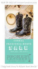 Corral Francesca Black Square Toe Boots |SALE|