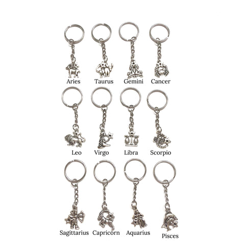 Astrological Sign Keychain