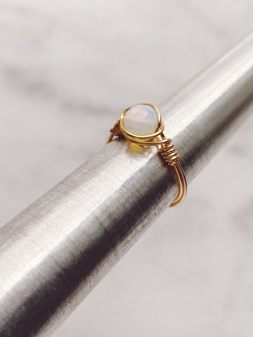 Mystery Wire Wrapped Ring