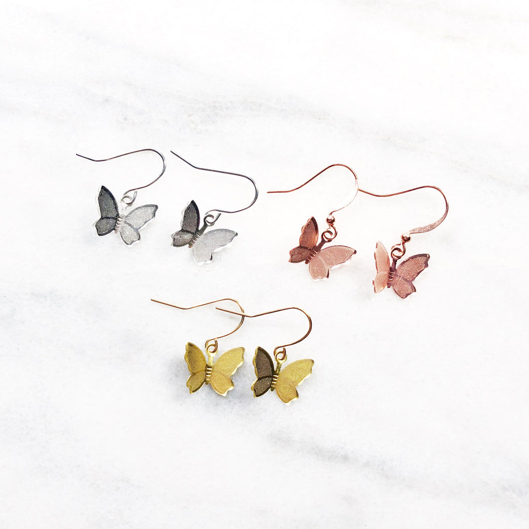 Mariposa Butterfly Earrings - Sun & Co.