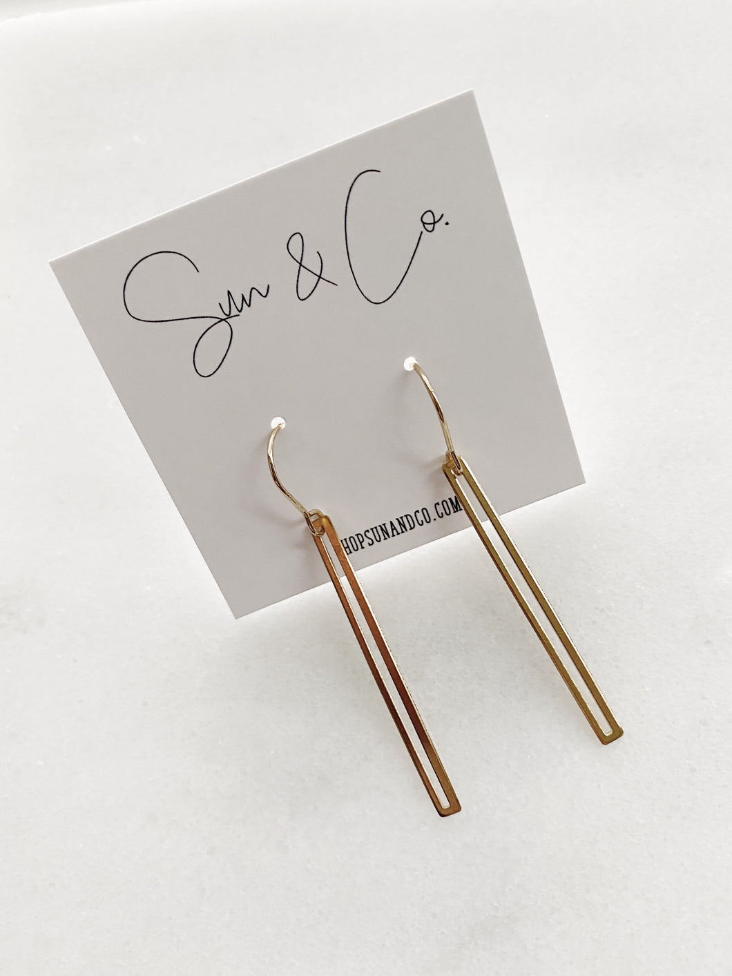 Basic Brass Earrings