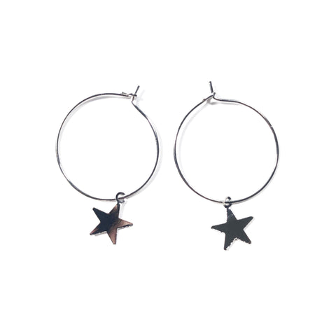 Stargirl Hoop Earrings - Sun & Co.