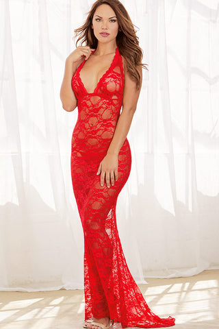 Dreamgirl Long Lace Gown