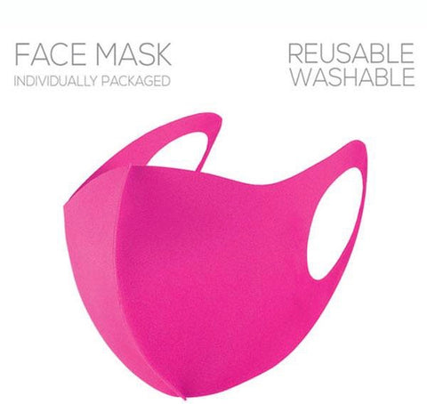 Pink Face Covering