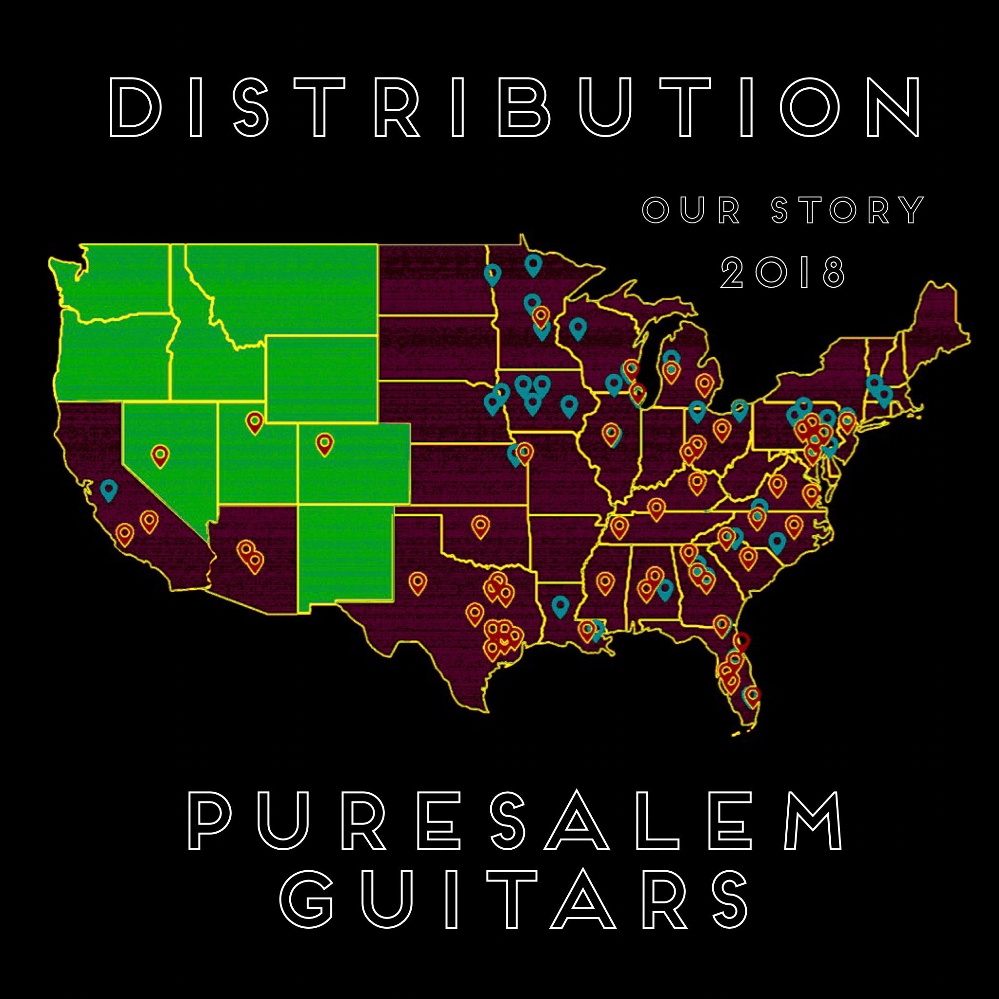 PureSalem Guitars Distribution Ma
