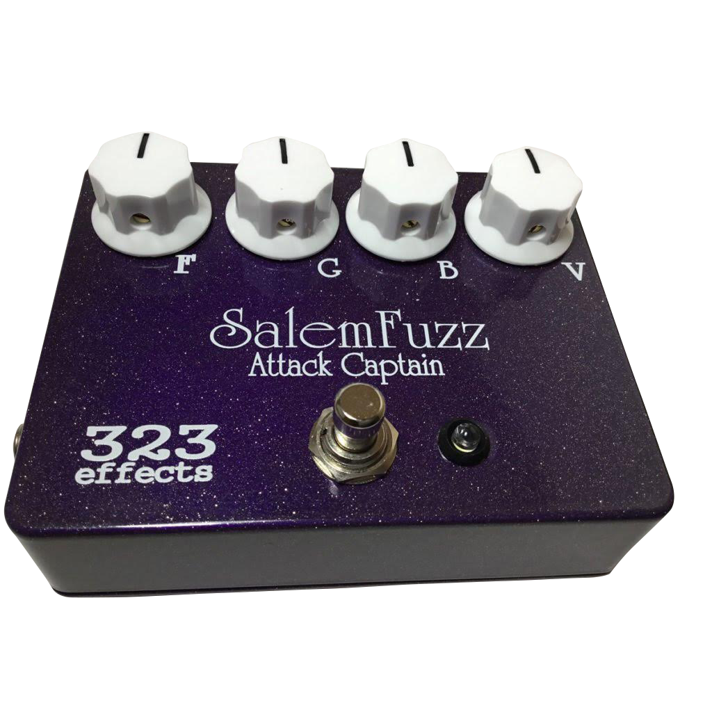 Fuzz Pedals Attack Captain