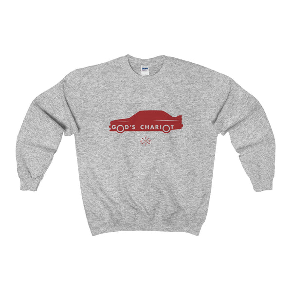 2002GW God's Chariot Sweatshirt - Red