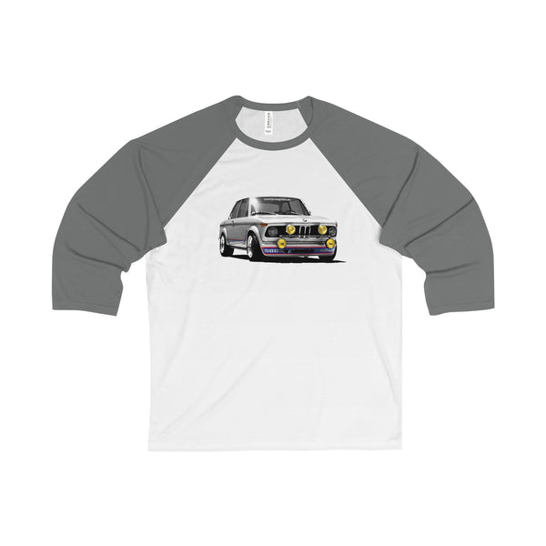 2002GW 1974 Turbo Unisex 3/4 Sleeve Baseball Tee