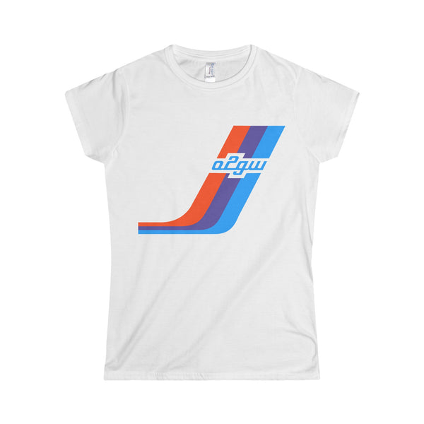 2002GW Huge Turbo Stripe Women's T-Shirt
