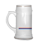 2002GW Turbo Stripe Beer Stein