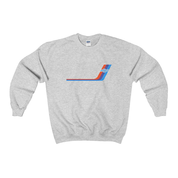 2002GW Turbo Stripe Double-Sided Crewneck Sweatshirt