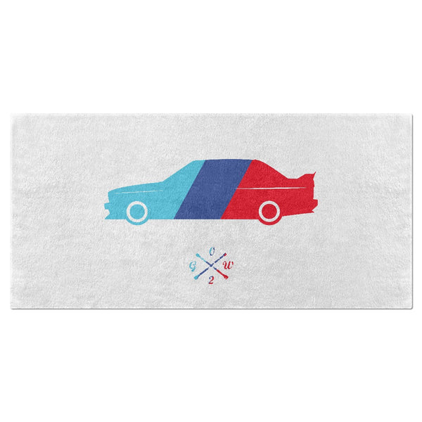 2002GW E30M3 Stripes Beach Towel