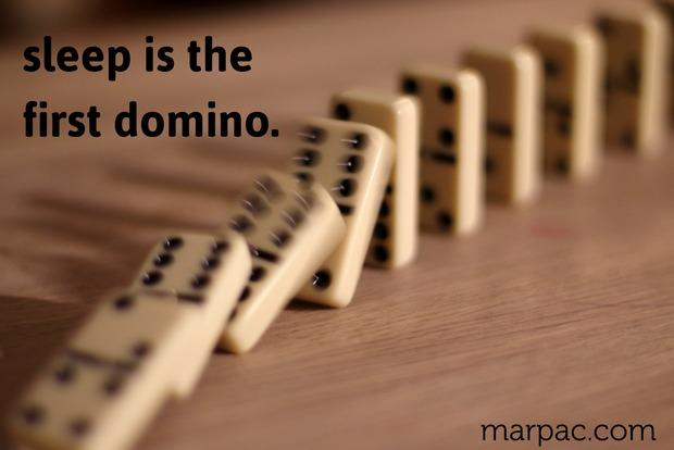 Sleep: The Domino Effect - Yogasleep | Love Real Sleep