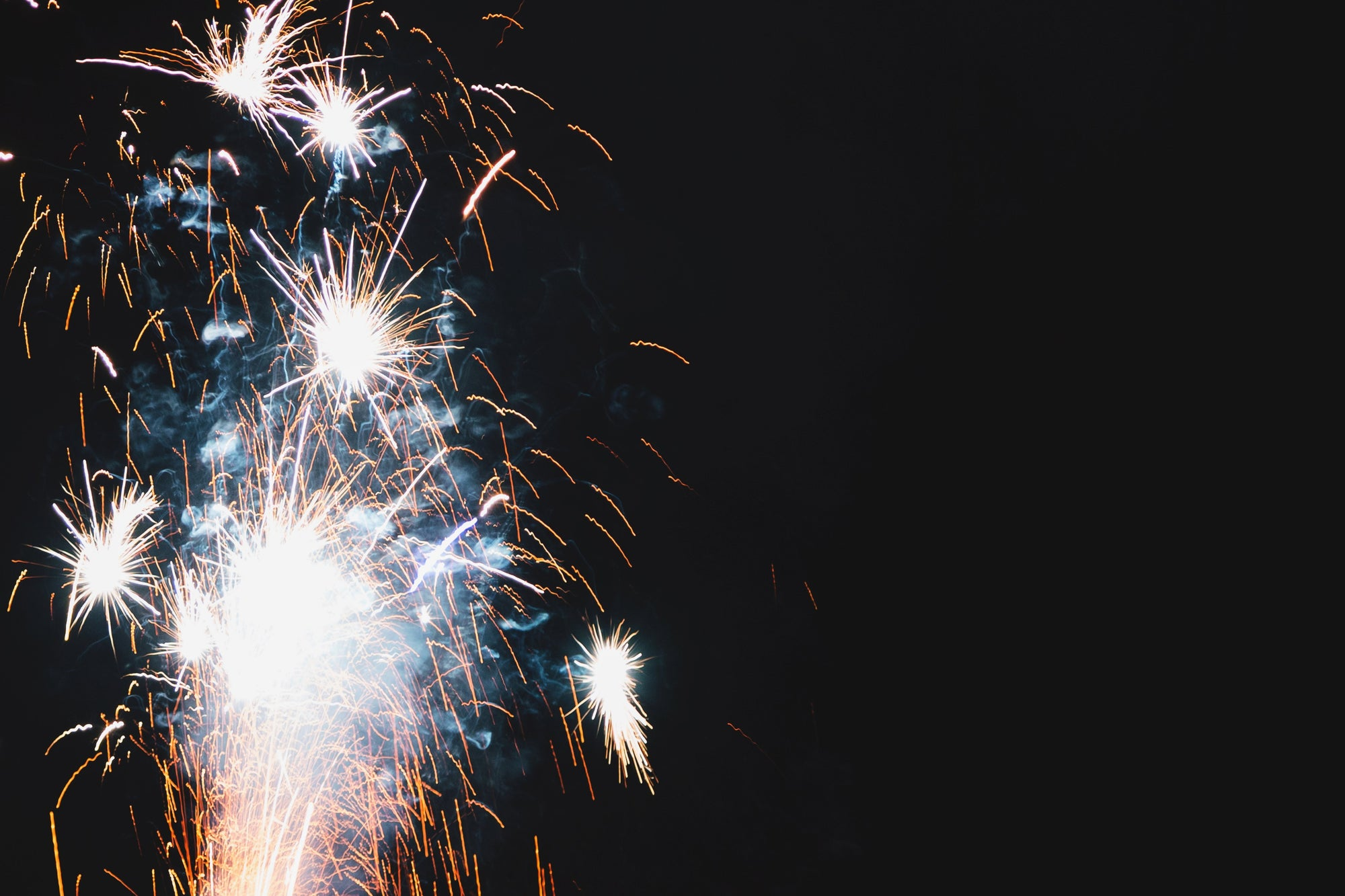 How to block the sounds of fireworks with white noise
