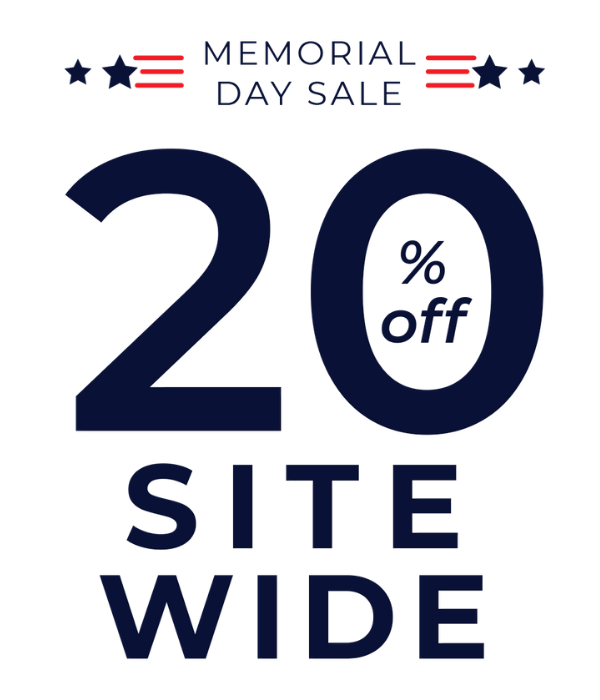 Save 20% sitewide during the Yogasleep Memorial Day Sale. Offer ends May 31, 2021.