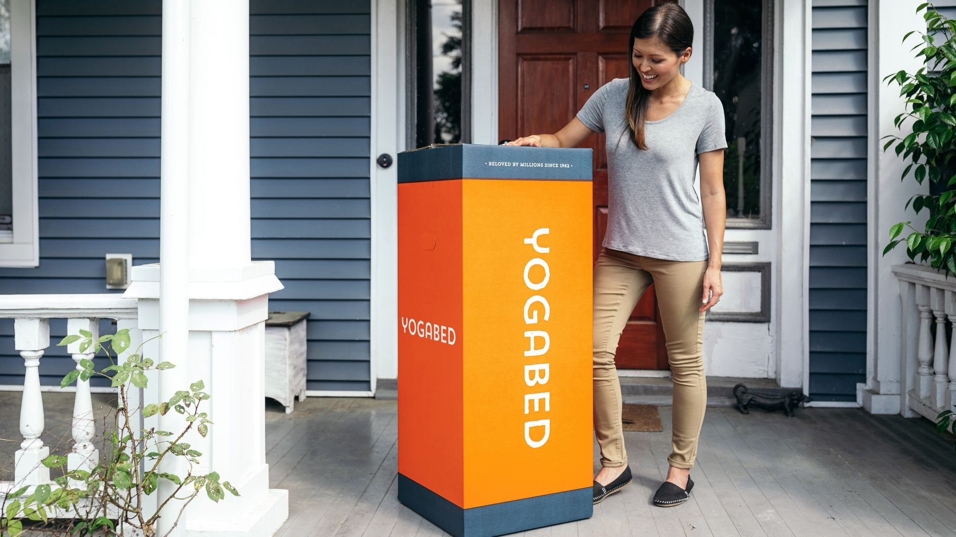 yogabed bed in a box mattress delivery to your door