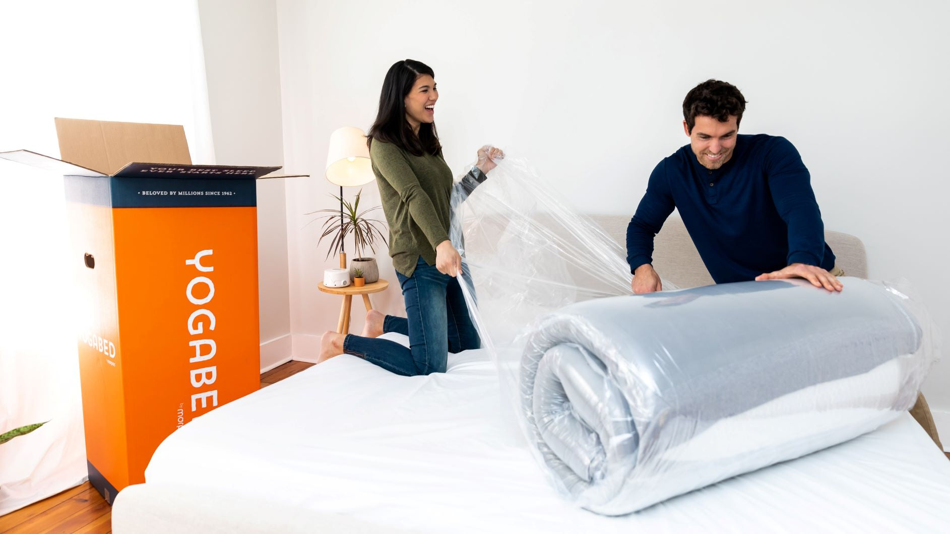 yogasleep yogabed bed in a box mattress easy setup