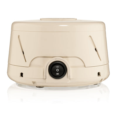 Dohm Classic Natural Sleep Sound Machine from Yogasleep - front view in tan