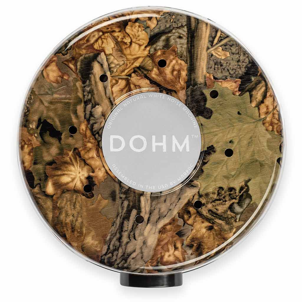 White Noise Sound Machine in Camo Print with Real Fan | Yogasleep