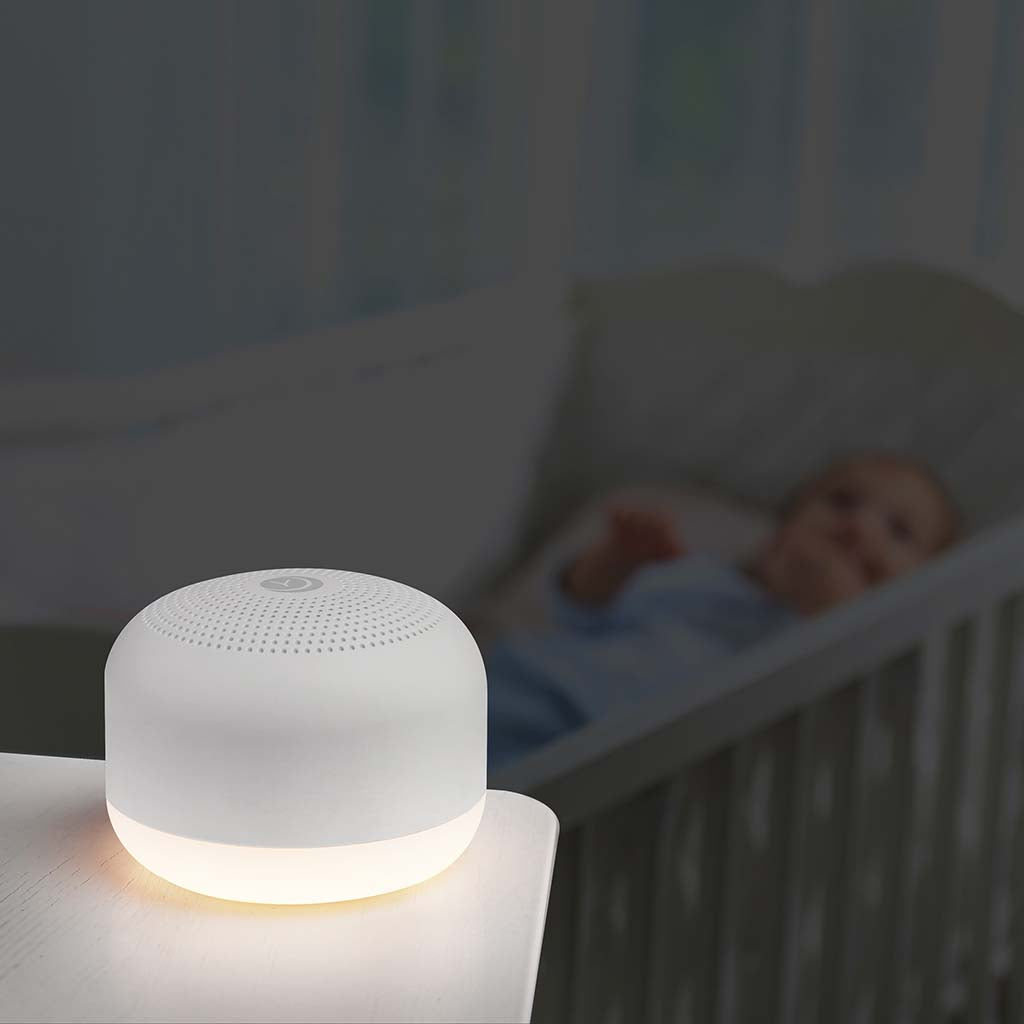2-Pack of Travel Mini Sound Machine with Night Light | Yogasleep