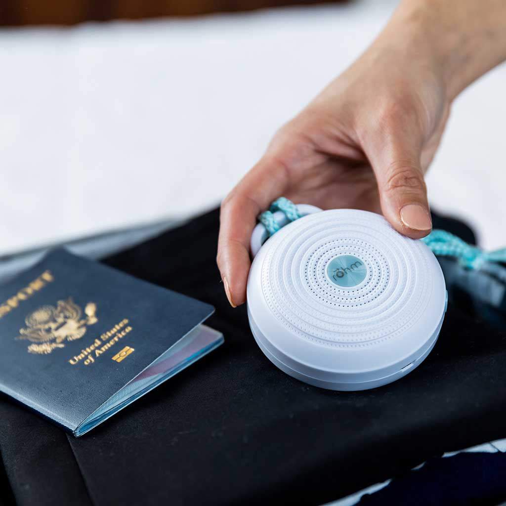 Rohm Travel Size Sound Machine for Adults & Baby | Yogasleep