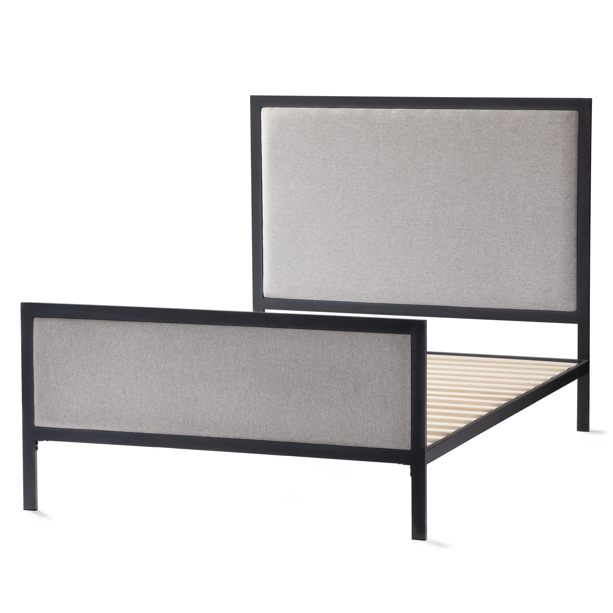 Clarke Upholstered Bed - Malouf by Yogasleep