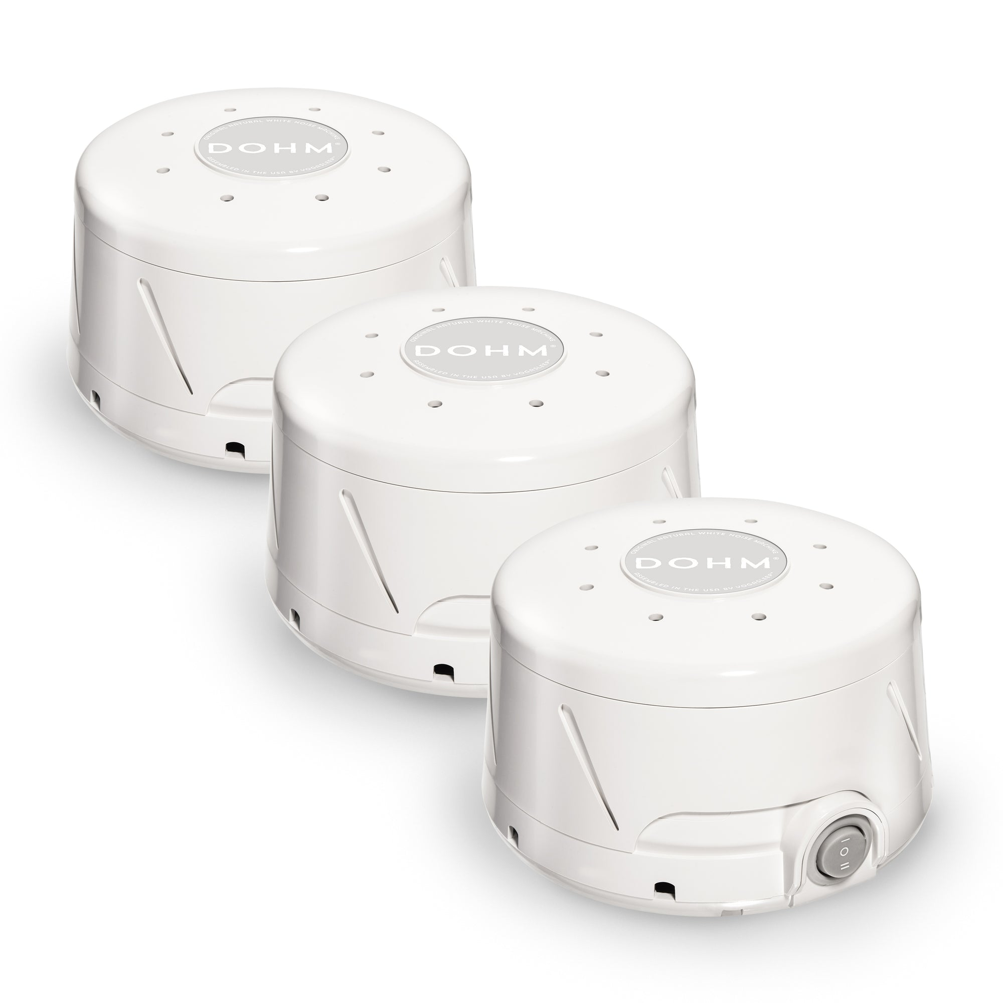 Dohm Classic White Sound Machine Bundle 3-Pack | Yogasleep