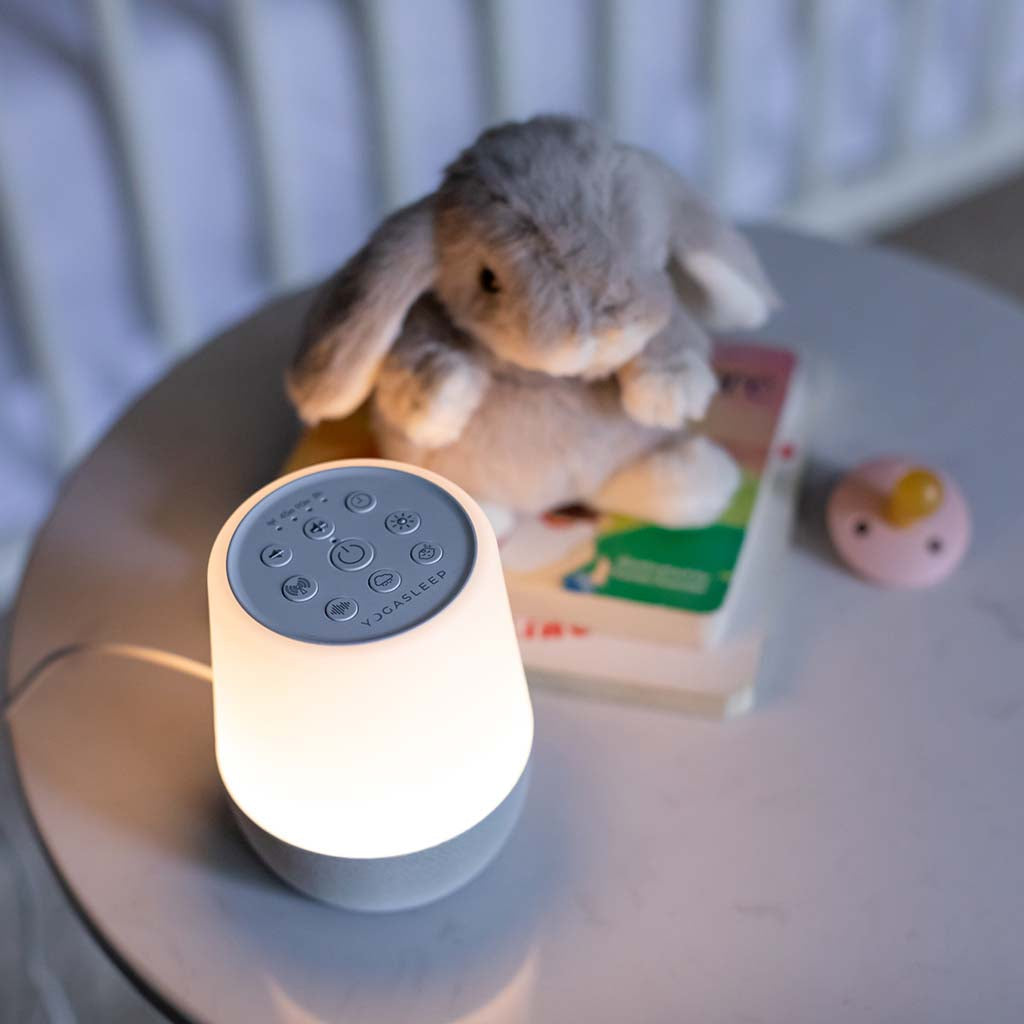 Duet Wireless-Enabled White Noise Machine with Night Light | Yogasleep